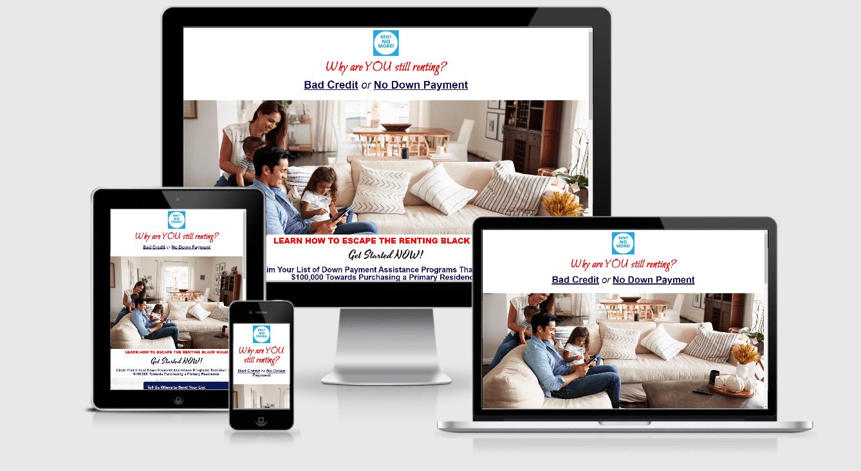 Credit Repair Agency Website