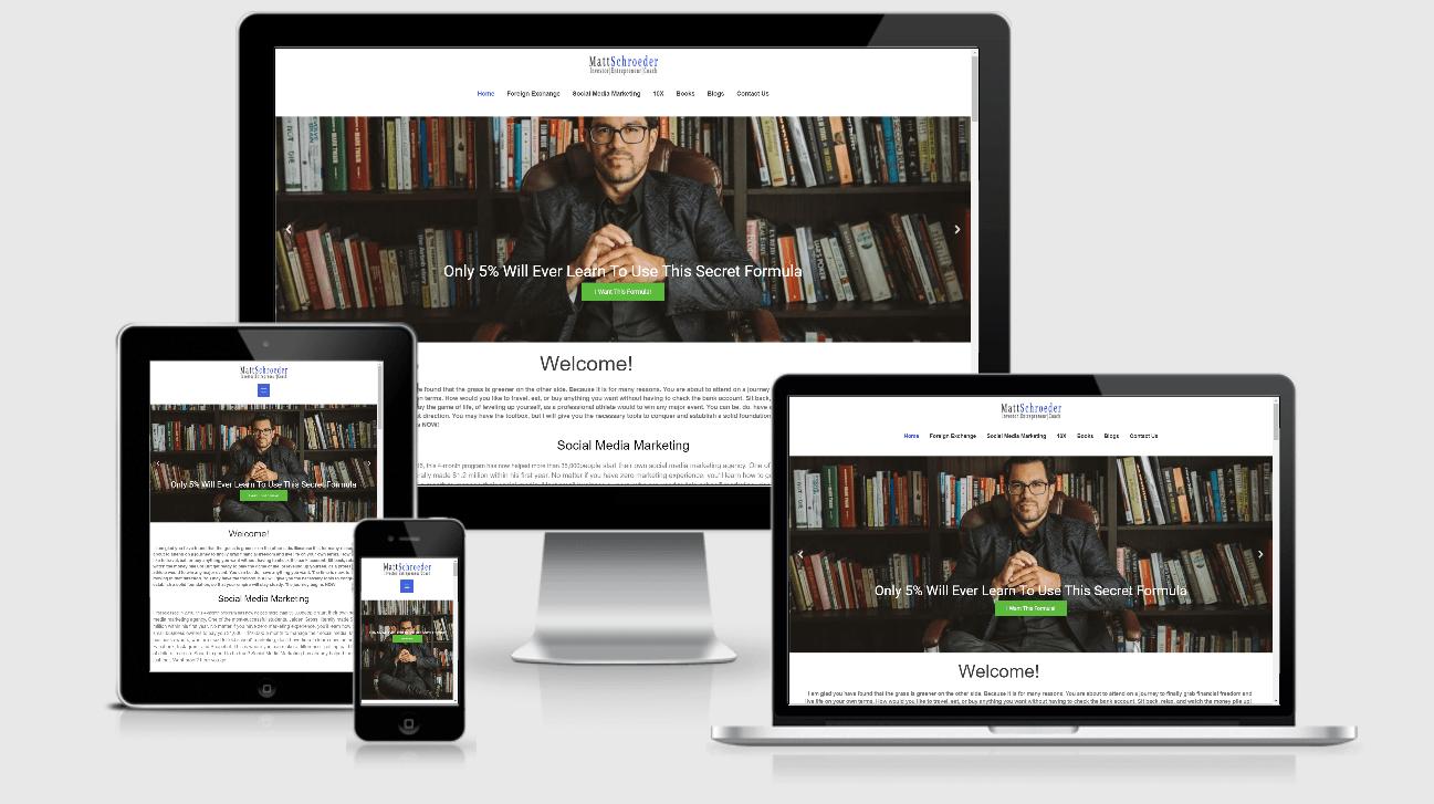 WordPress Courses Website