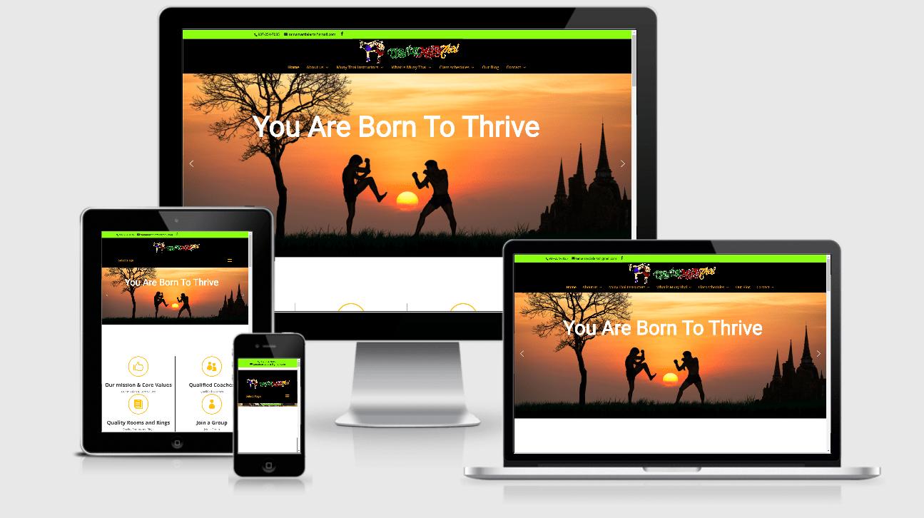 WordPress Thai Training Institute Website